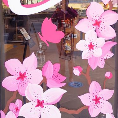 La Vie en Rose Window Mural - Sabrina Rupprecht - 2