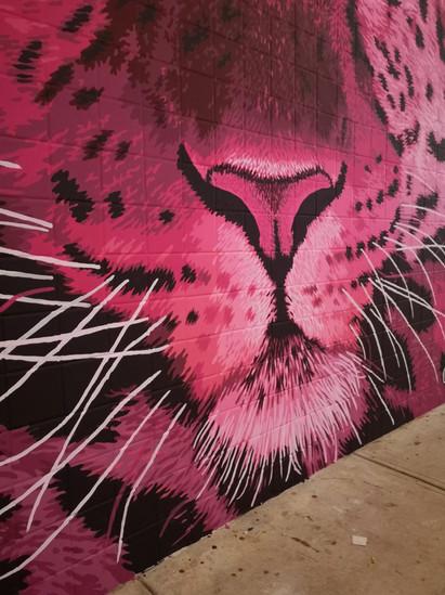Pink Leopard Mural - Sabrina Rupprecht - 5