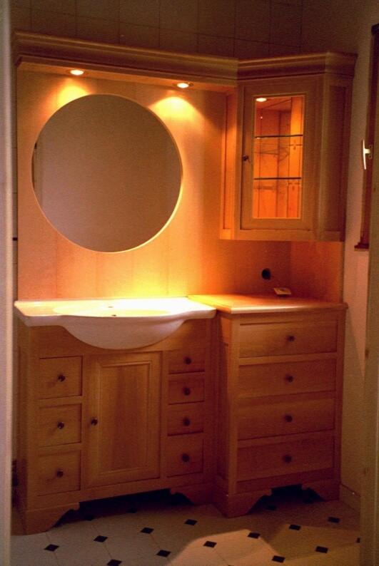 Salle de bains vernie naturelle