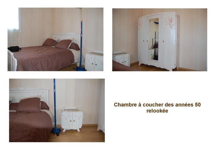 Chambre à coucher relookée