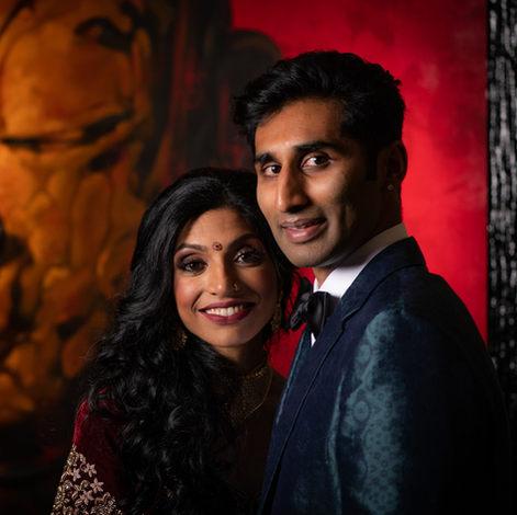 Megan and Surya
