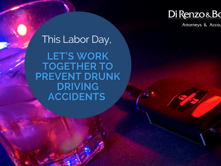 This Labor Day, Let's Work Together to Prevent Drunk Driving Accidents