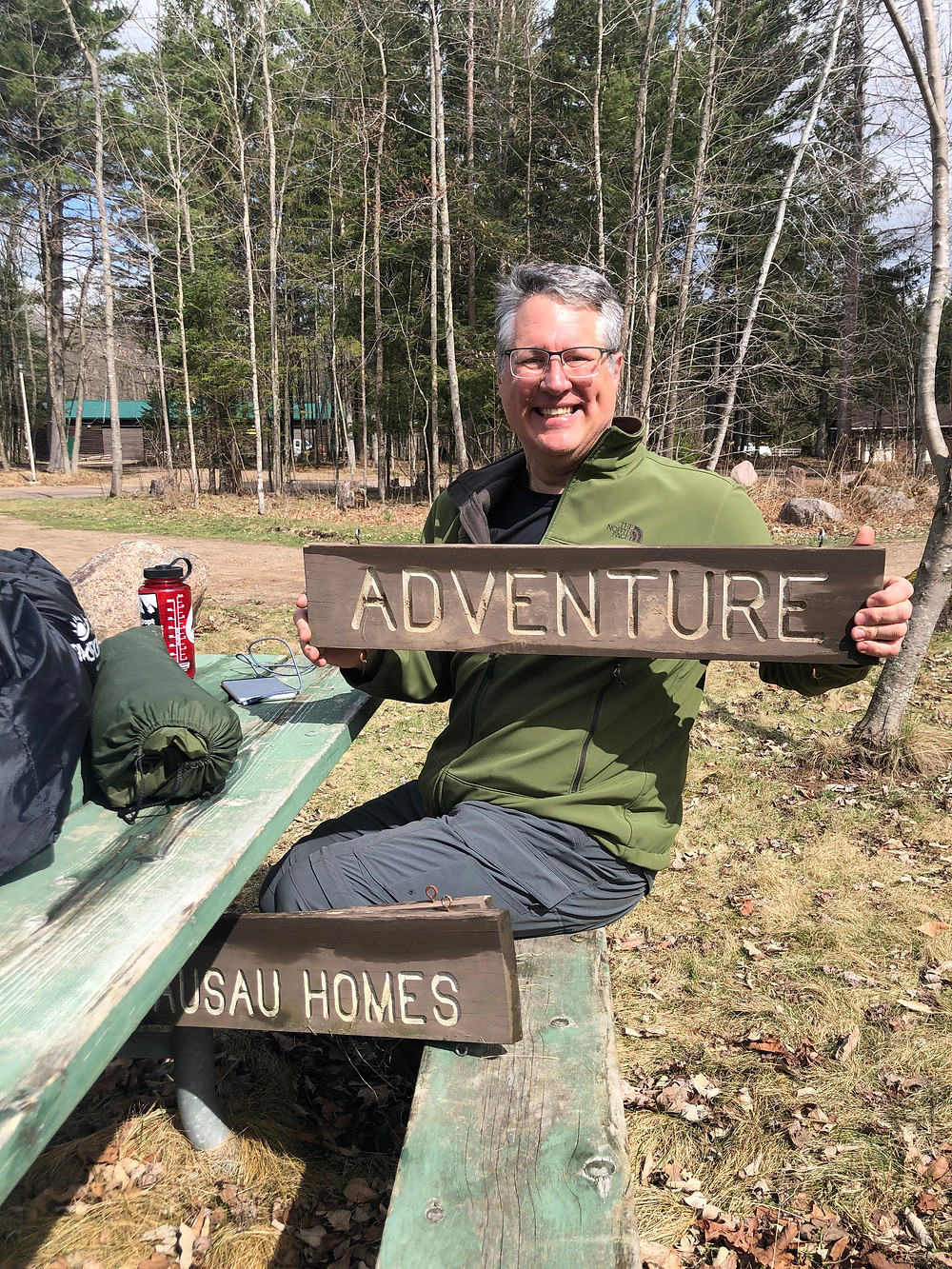 Jeff is always up for an adventure, especially when it involves hiking or fishing