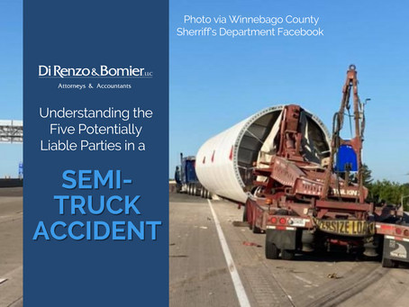Understanding the Five Potentially Liable Parties in a Semi-Truck Accident
