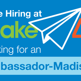 Madison Ambassador Job. Apply Now!