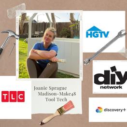 Meet Joanie Sprague - Make48 Madison Tool Tech