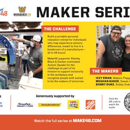 The Maker Series finds a page in Popular Mechanics
