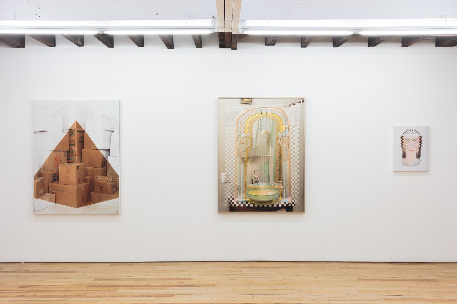 Installation view, House Hunting, Rachel Uffner, 2019