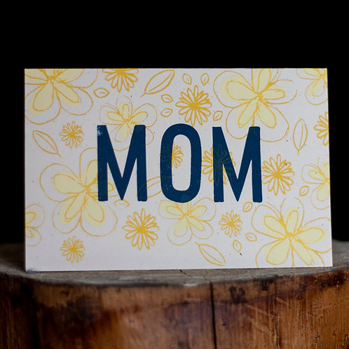 Mom (Mother's Day) Card