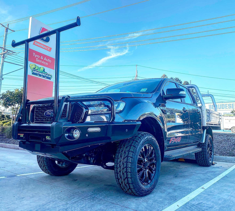 Ford Ranger Bullbar H-Frame