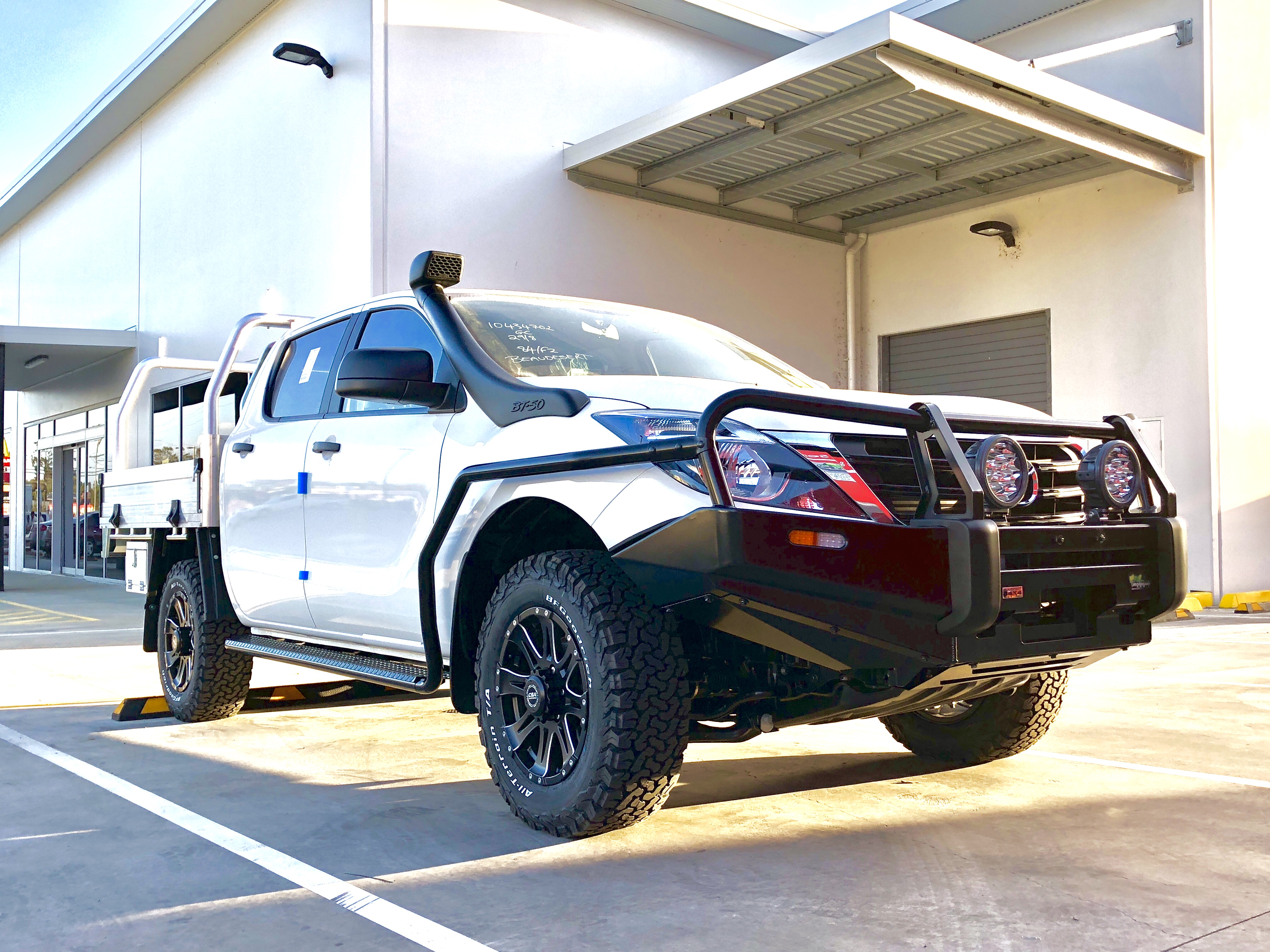 Mazda BT50 with Ironman 4x4