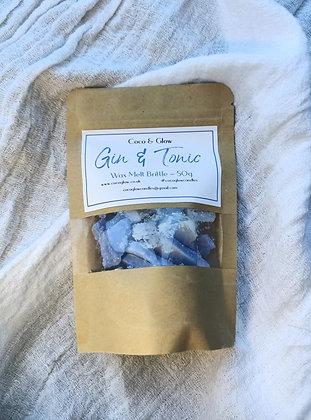 Wax melt brittle - Gin & Tonic