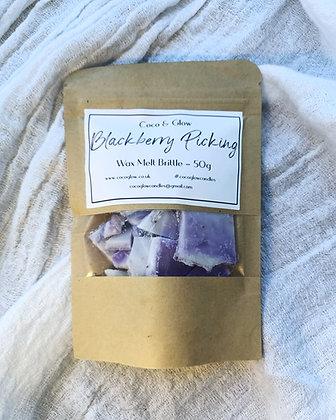 Wax melt brittle - Blackberry Picking