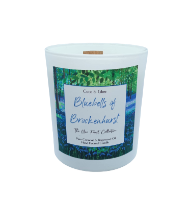 Wood Wick - Bluebells of Brockenhurst