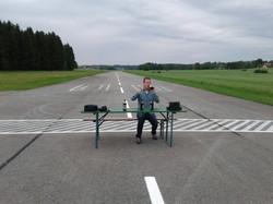 Flugleiter bei der Arbeit
