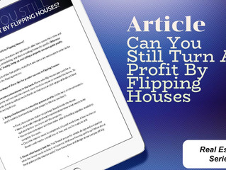 Can You Still Turn a Profit by Flipping Houses?