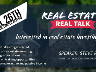 Real Estate Real Talk!