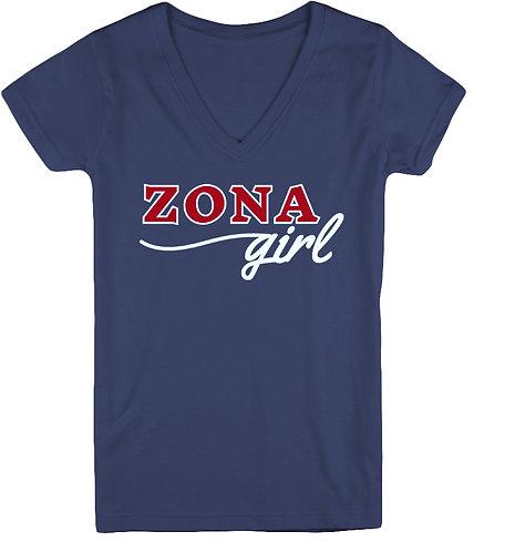 Zona Girl Women's V-Neck