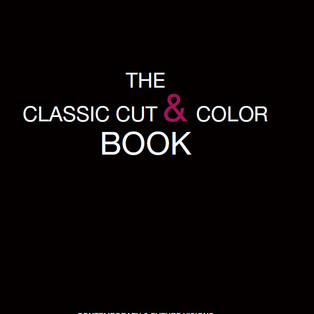 THE CLASSIC CUT & COLOR BOOK CONTEMPORARY & FUTURE VISIONS  BOOK STEP BY STEP