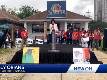 Group breaks ground on transitional home for people returning from prison