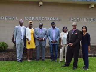 Our Visit (back) to Oakdale Federal Prison