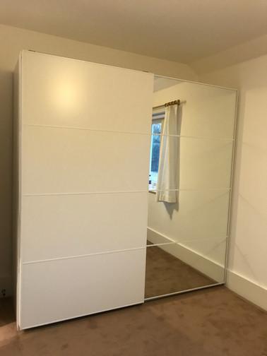 Ikea Pax sliding installation