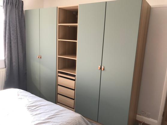 Ikea Pax Hinged