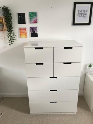 Ikea Nordli chest of drawers