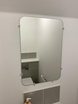 Bathroom Mirror Mounting