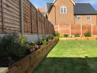 Garden build 1