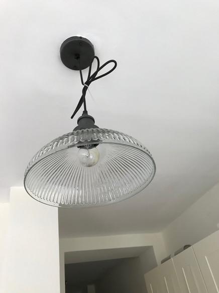 Pendant light installation