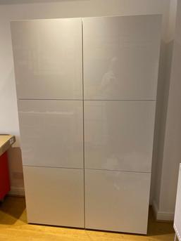 Ikea Besta cabinets