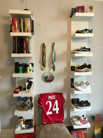 Multi purpose shelf install