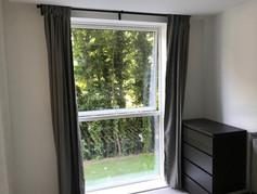 Curtain rail install