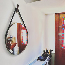 Mounted a few accent mirrors like this t