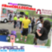 Magicle Ice Cream truck at a corporate event staff appreciation event. Ice Cream Truck rental. NJ Ice Cream Truck rental. Ice Cream Social. #MaicleStudentDay #BestCollegeidea, #TeacheApprecitionday,#MagicleTeacherday