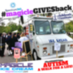 Magicle Ice Cream truck at a corporate event staff appreciation event. Ice Cream Truck rental. NJ Ice Cream Truck rental. Ice Cream Social. #MaicleStudentDay #BestCollegeidea, #TeacheApprecitionday,#MagicleTeacherday #Maiclegivesback #Bestcharityidea