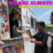 Magicle Ice Cream truk at a corporate event staff appreciation event. Ice Cream Truck rental.