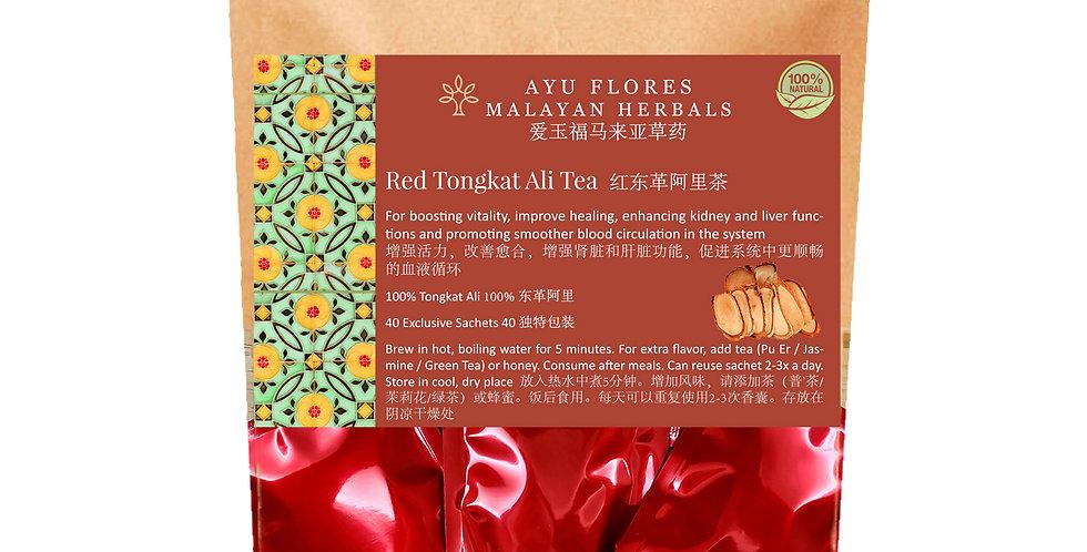 Red Tongkat Ali Tea (40 Sachets)