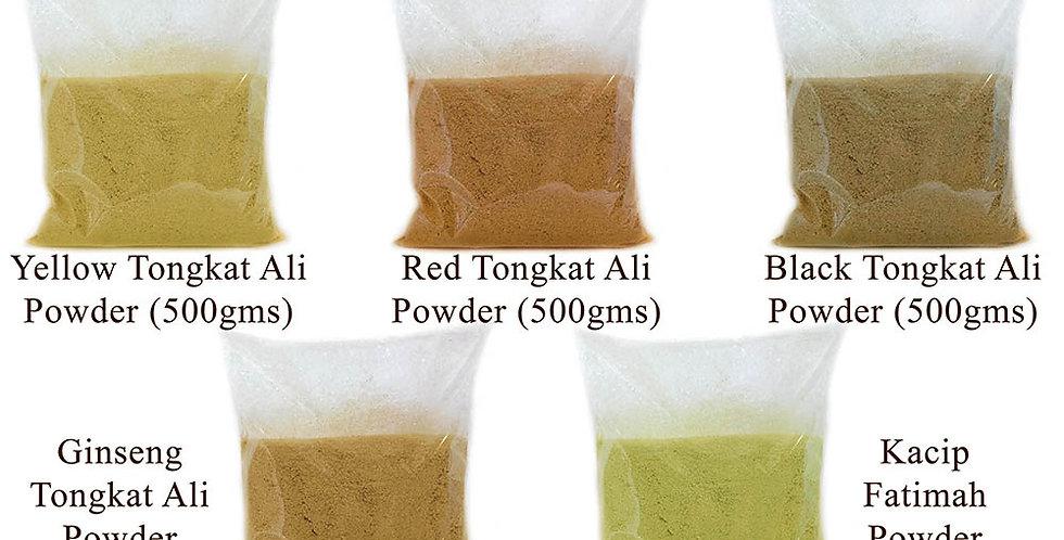 5 Packs Tongkat Ali + Kacip Fatimah Powder (5 Packs Promo) (Per Pack 500gms)