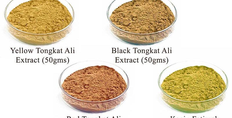 4 Packs Tongkat Ali + Kacip Fatimah Extract (4 Packs Promo) (Per Pack 50gms)