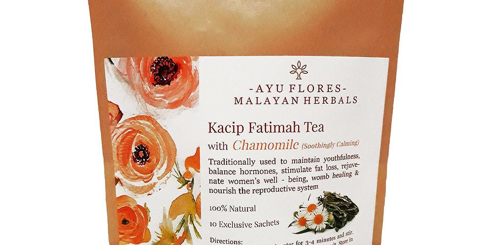 Kacip Fatimah Chamomile Tea (10 Sachets)