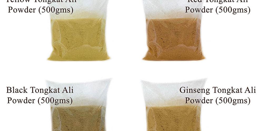 4 Types Tongkat Ali Powder (4 Packs Promo) (Per Pack 500gms)