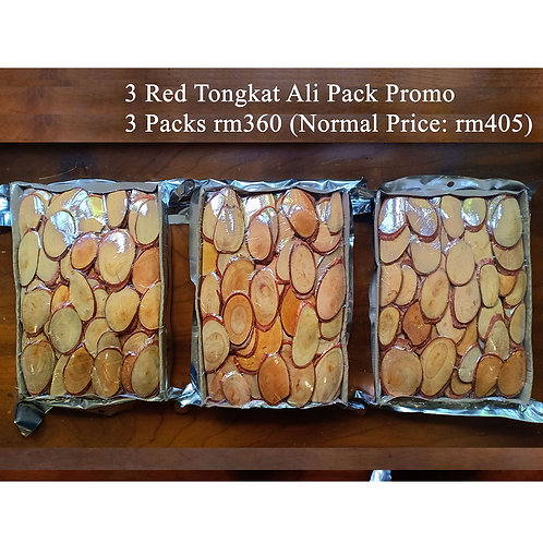 Extended Promotion - 3 Packs Red Tongkat Ali (Extra Premium Grade)