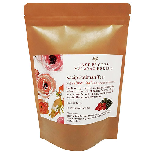 Kacip Fatimah Rose Bud Tea