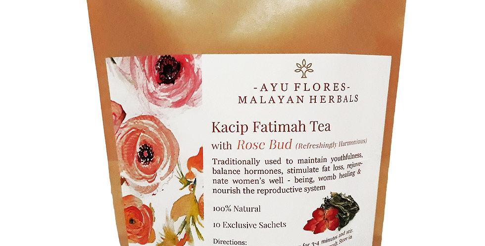 Kacip Fatimah Rose Bud Tea (10 Sachets)