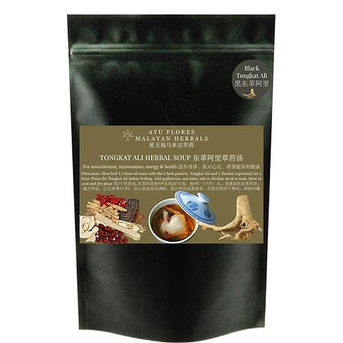 Black Tongkat Ali Herbal Soup