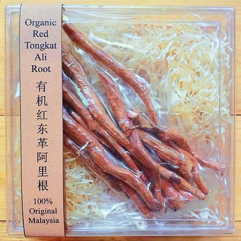 Red Tongkat Ali Root (Top Gold Grade) (Plastic Box 100gms)