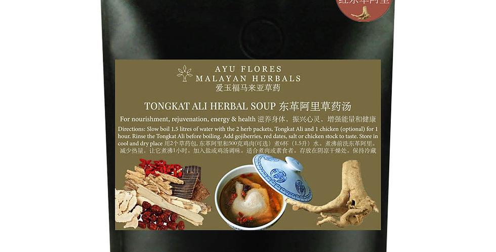 Red Tongkat Ali Herbal Soup