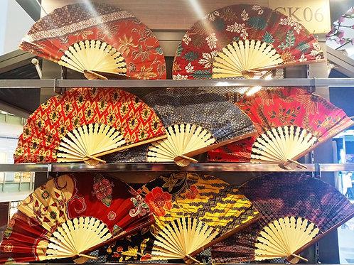 Traditional Batik Hand Fan (100 Pcs)